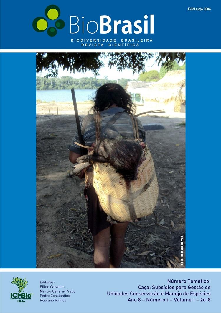 EDITORIAL: informamos que o editorial está publicado no volume 2 de caça